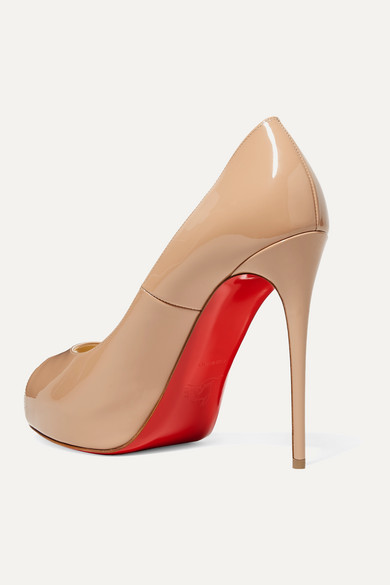 the latest 0bb59 c6c4b Christian Louboutin | New Very Prive 120 patent-leather ...