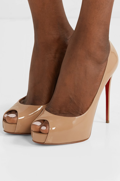 the latest 0b55a f7378 Christian Louboutin | New Very Prive 120 patent-leather ...