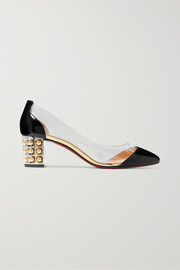 Gallica 55 PVC and patent-leather pumps