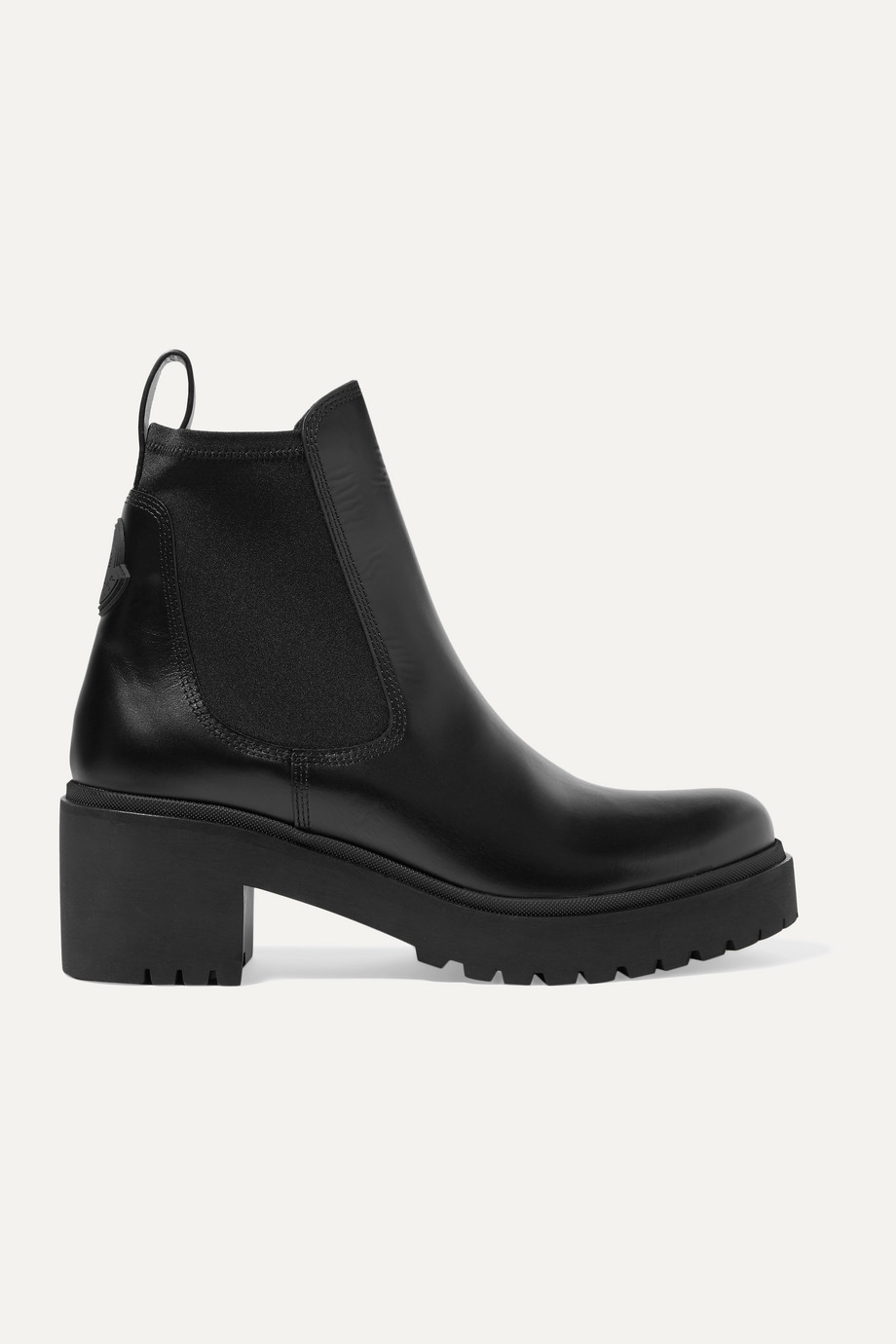 Moncler Vera leather Chelsea boots