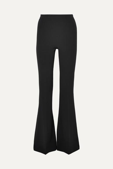 b1a82ca7c70e95 Safiyaa | Halluana stretch-crepe flared pants | NET-A-PORTER.COM