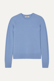 Vince Runner rib-trimmed cashmere sweater