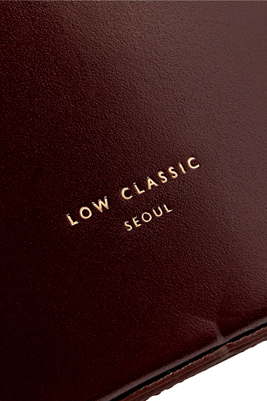 LOW CLASSIC Curve leather shoulder bag