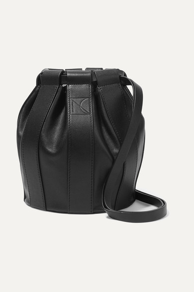 Low Classic Low Classic - Leather Bucket Bag - Black
