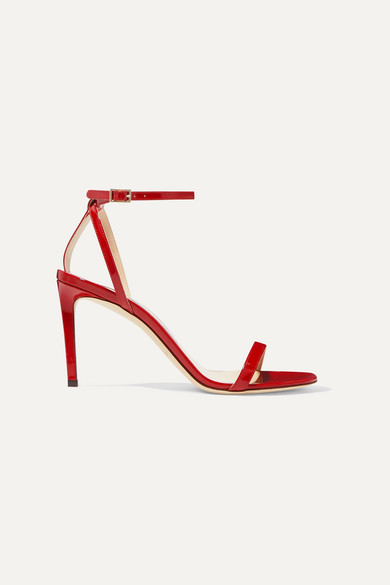Jimmy Choo Sandals Minny 85 patent-leather sandals