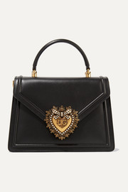 Dolce & Gabbana Devotion medium embellished leather tote