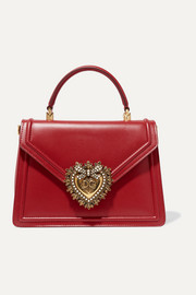 Dolce & Gabbana Devotion small embellished leather tote