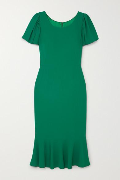 3c17e870 Dolce & Gabbana | Ruffled cady midi dress | NET-A-PORTER.COM