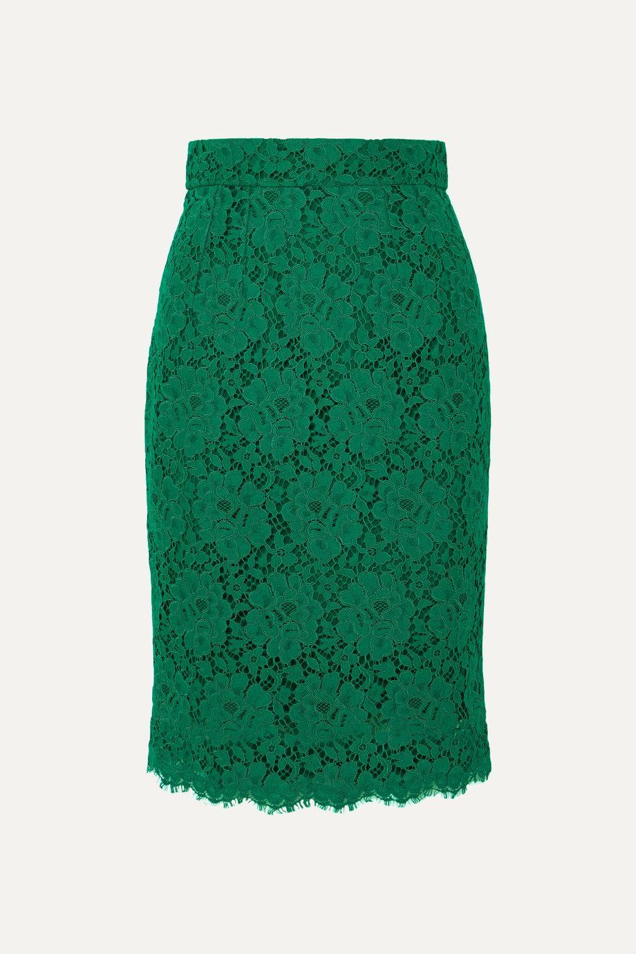 Dolce & Gabbana Guipure lace skirt