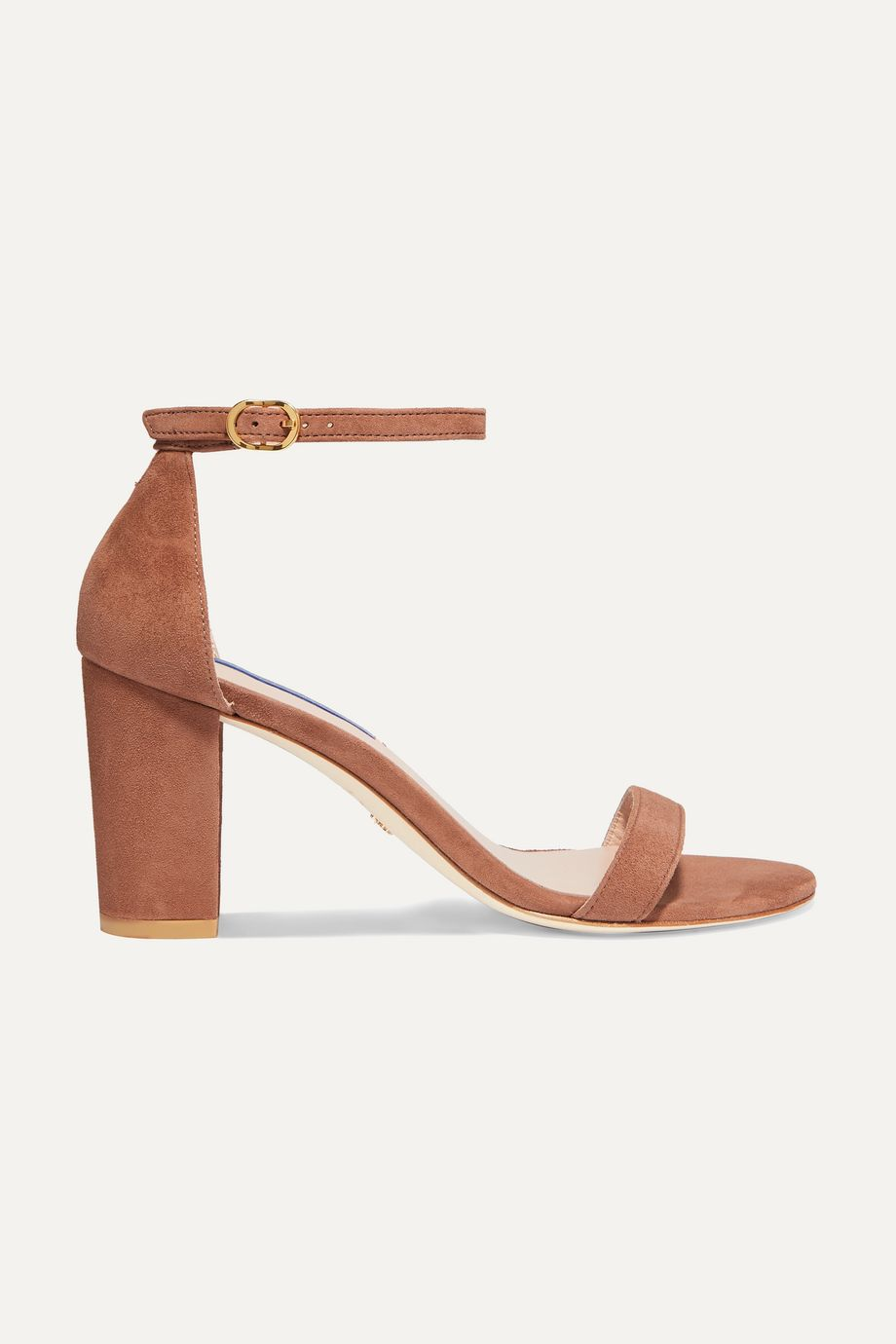 Stuart Weitzman NearlyNude suede sandals