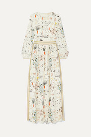 Tory Burch Floral-print silk crepe de chine maxi dress