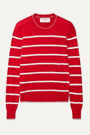 Neat striped cotton sweater