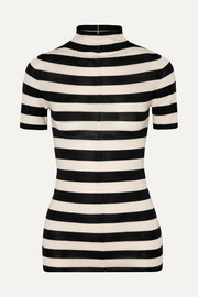 Khaite Nidia striped wool sweater