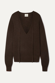 Khaite Emma stretch-cashmere sweater