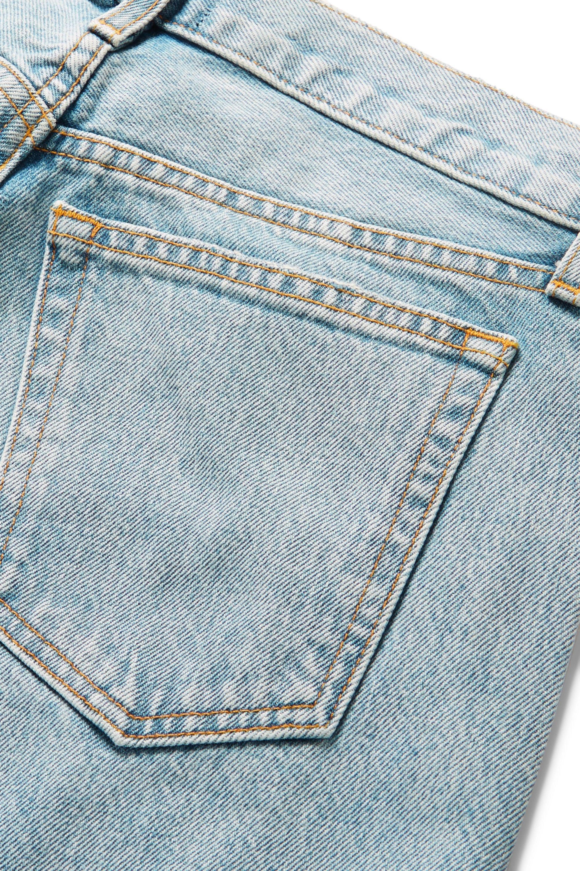 Khaite Kyle low-rise straight-leg jeans