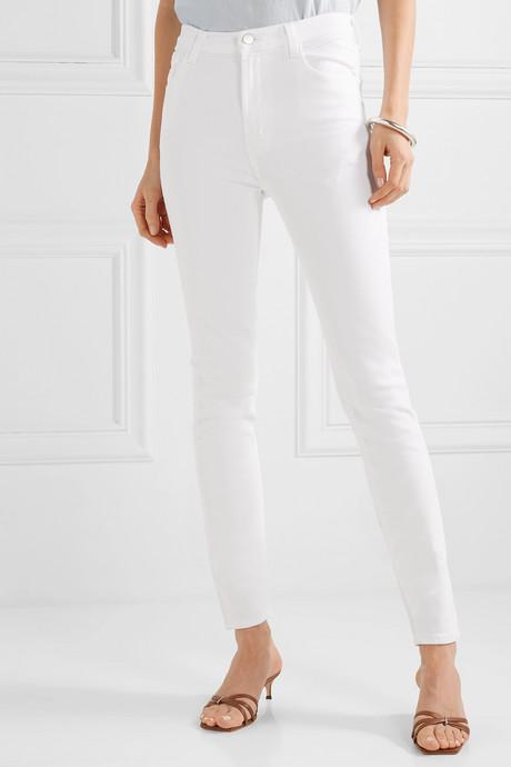 Carolina high-rise skinny jeans