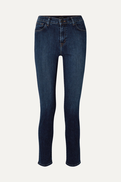 "Ruby 30"" High Rise Slim Leg Jeans by J Brand"