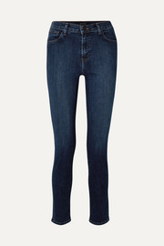 "Ruby 30"" high-rise slim-leg jeans"