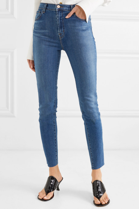 Leenah high-rise skinny jeans