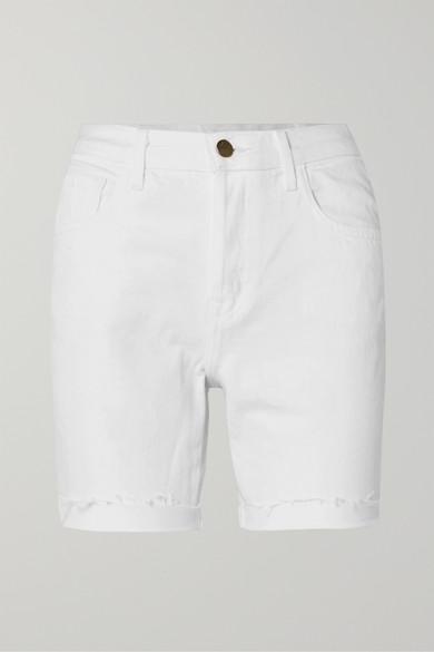 Billey Frayed Denim Shorts by J Brand