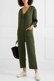 The Union cotton-gauze jumpsuit