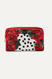 Dolce & Gabbana Printed shell cosmetics case