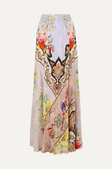 009652c57fe Etro | Printed crepe-jacquard maxi skirt | NET-A-PORTER.COM