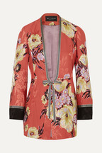 25675d0cb0aecc Etro Floral-print satin-jacquard jacket