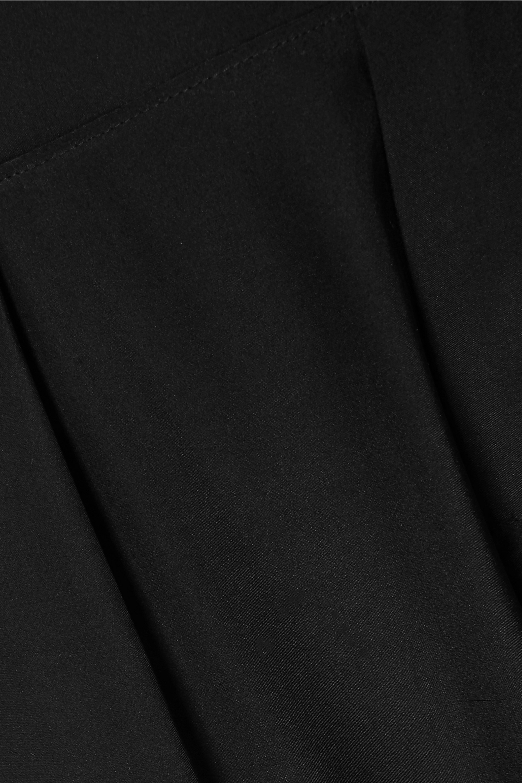 ATM Anthony Thomas Melillo Silk crepe de chine track pants