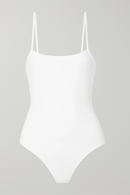 ATM Anthony Thomas Melillo Stretch-Pima cotton jersey thong bodysuit