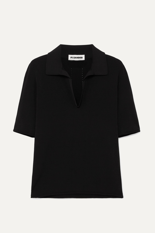 Jil Sander Stretch-jersey polo shirt