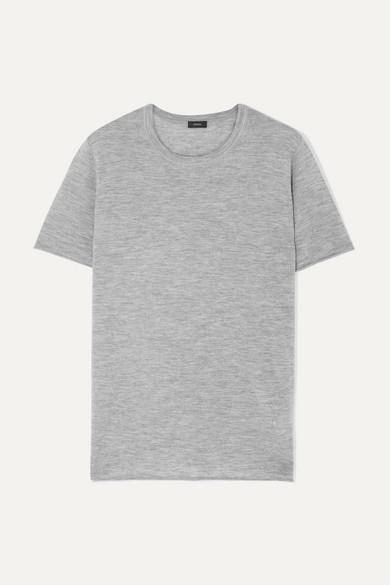 JOSEPH | Joseph - Cashmere T-Shirt - Gray | Goxip