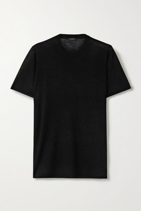Black Cashmere T-shirt  | Joseph nhcH7O