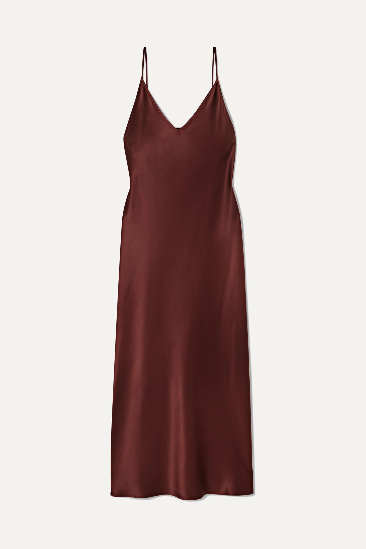 Joseph Clea silk-satin midi dress