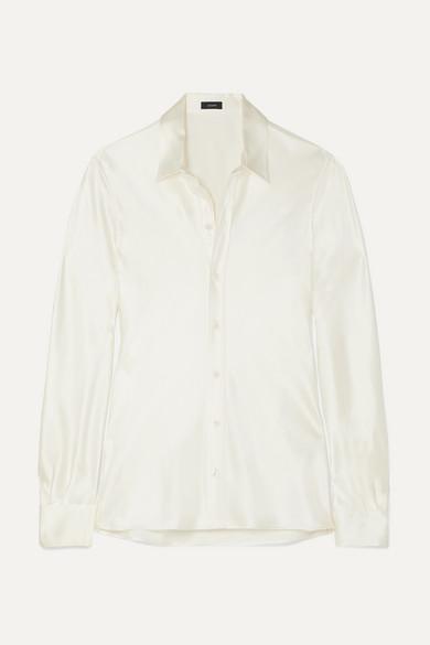 George Silk Satin Shirt by Joseph