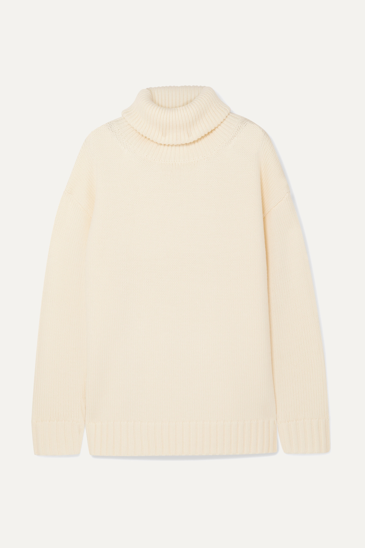 Joseph Sloppy Joe oversized wool turtleneck sweater