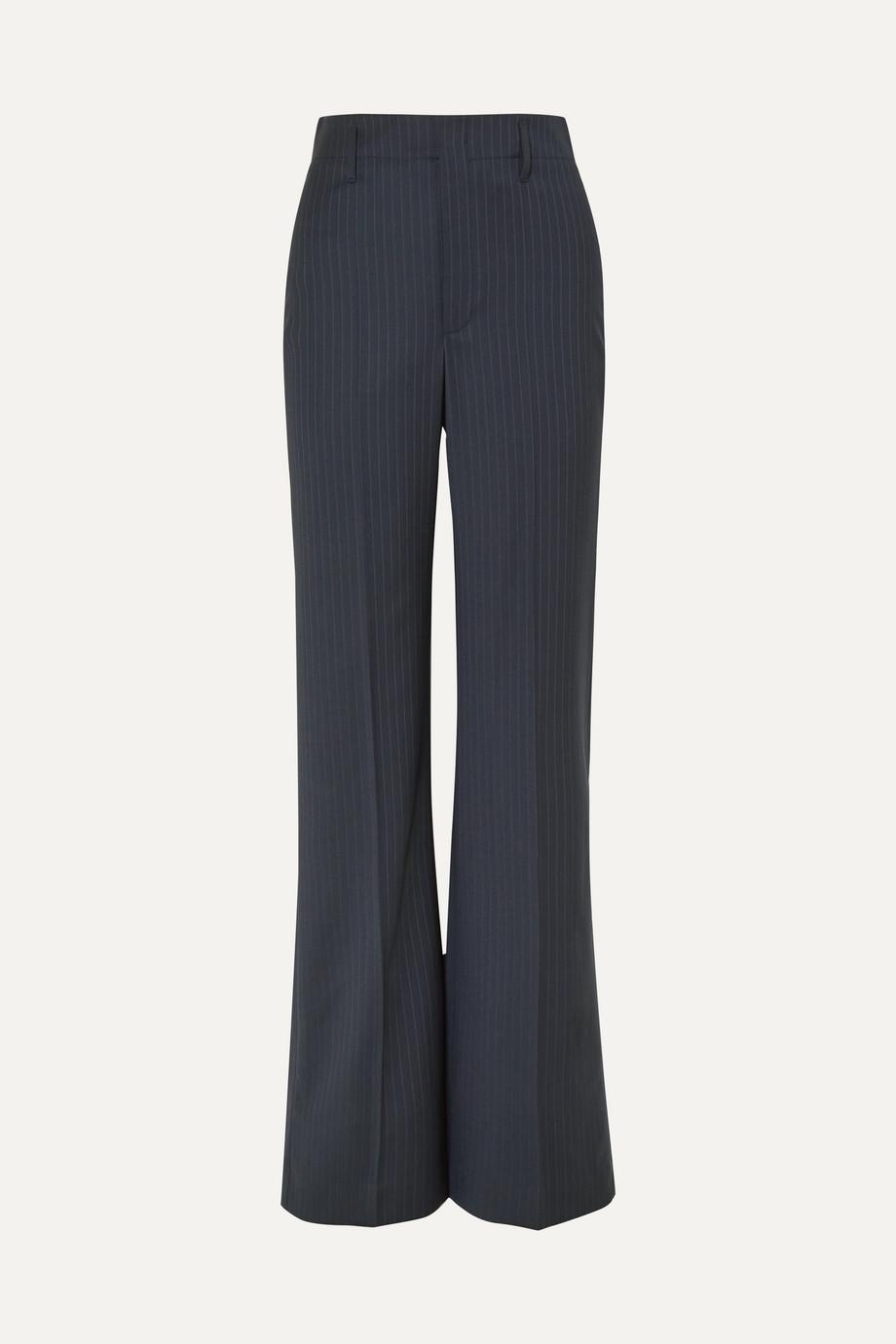 Joseph Ido pinstriped wool-blend straight-leg pants