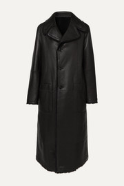 Maybelle reversible shearling coat