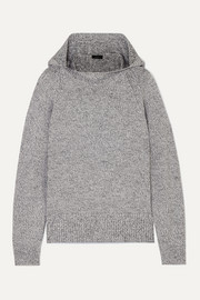 Joseph Mouline hooded mélange wool sweater