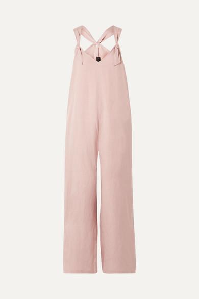 The Noa linen-blend jumpsuit