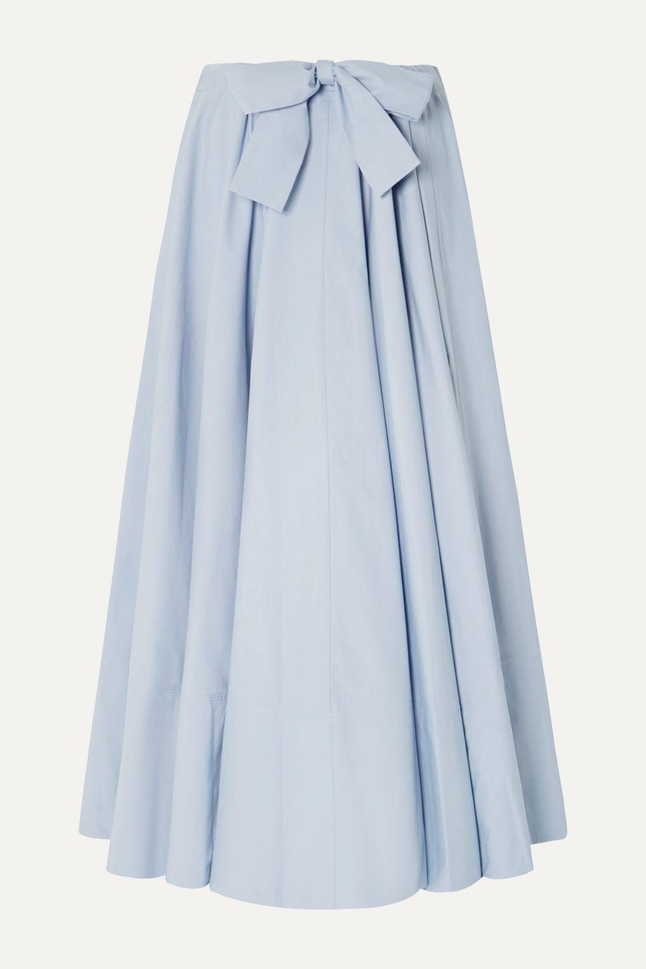 Co Cotton-poplin maxi skirt