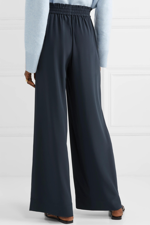 Co Crepe wide-leg pants