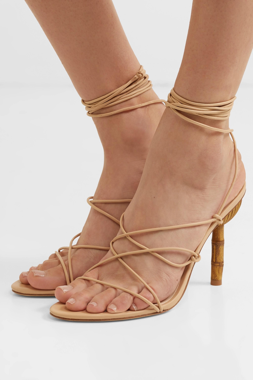 Cult Gaia Soleil leather sandals