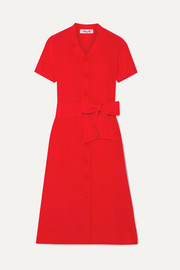 Diane von Furstenberg Addilyn silk crepe de chine midi dress