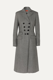 Altuzarra Janine Prince of Wales checked wool-blend coat