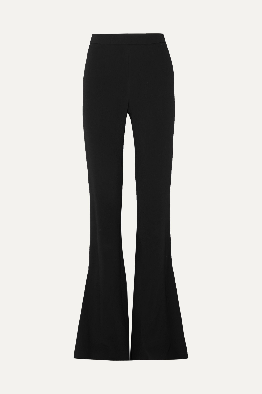 Cushnie Stretch-cady flared pants