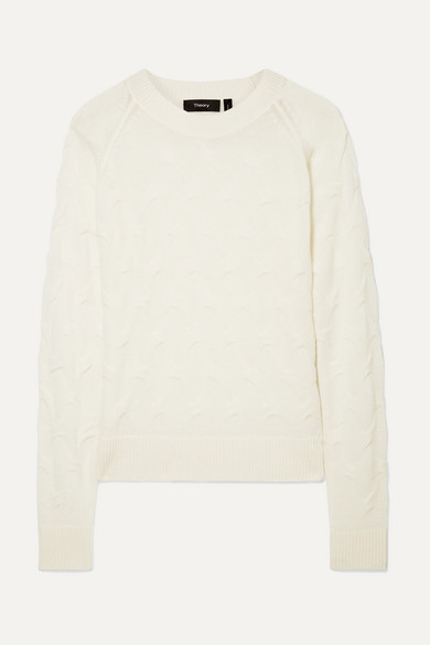 Textured Cashmere Sweater by Theory