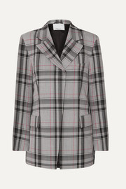 3.1 Phillip Lim Checked twill blazer