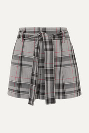 3.1 Phillip Lim Checked twill shorts