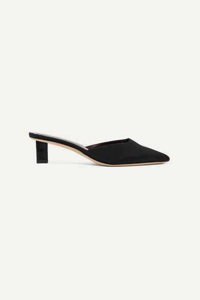 Carine Faille Mules by Staud